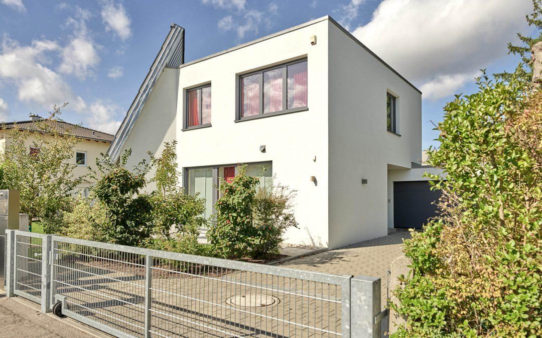 Einfamilienhaus Holzmassivwand Lignapur
