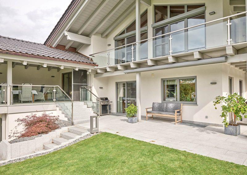 Einfamilienhaus Hybridbauweise